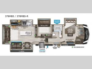 Solitude 378MBS R Floorplan Image