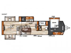 Salem Villa Series 395RET Estate Floorplan Image