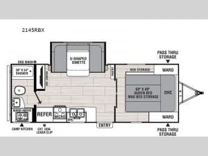 Northern Spirit XTR 2145RBX Floorplan Image