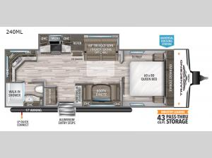 Transcend Xplor 240ML Floorplan Image