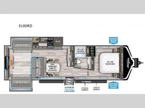 Imagine 3100RD Floorplan Image