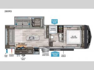 Reflection 150 Series 280RS Floorplan Image