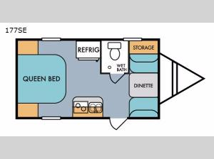 Retro 177SE Floorplan Image