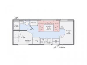 Spirit 22R Floorplan Image