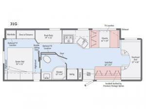 Spirit 31G Floorplan Image