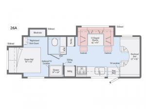 Spirit 26A Floorplan Image