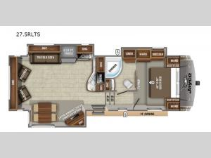 Eagle HT 27.5RLTS Floorplan Image