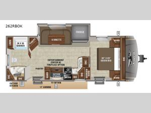 Eagle HT 262RBOK Floorplan Image