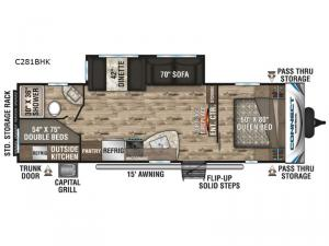 Connect C281BHK Floorplan Image