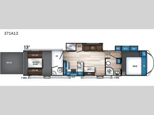 Vengeance Rogue Armored 371A13 Floorplan Image