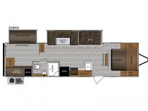 Tracer Breeze 31BHD Floorplan Image