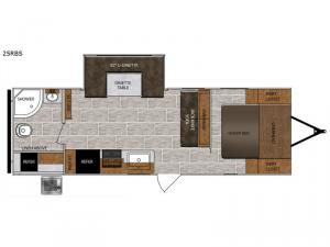 Tracer Breeze 25RBS Floorplan Image