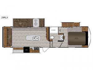 Wildcat 29RLX Floorplan Image