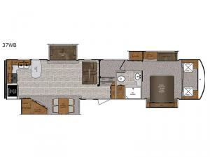 Wildcat 37WB Floorplan Image