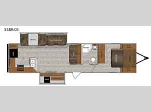 Wildcat 338RKS Floorplan Image