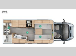 Wonder 24FTB Floorplan Image
