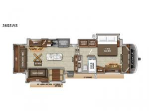 Pinnacle 36SSWS Floorplan Image