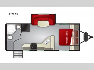 Shadow Cruiser 225RBS Floorplan Image