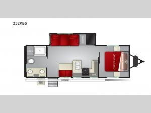 Shadow Cruiser 252RBS Floorplan Image