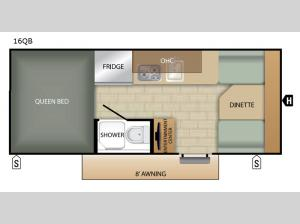 Comet Mini 16QB Floorplan Image