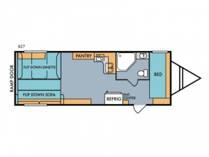 Retro 827 Floorplan Image