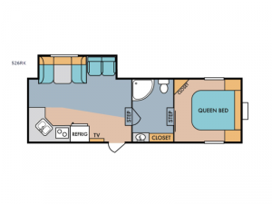 Retro 526RK Floorplan Image