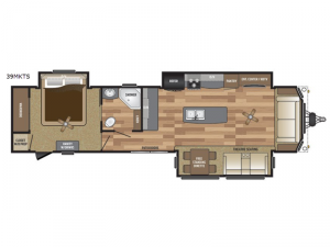 Retreat 39MKTS Floorplan Image