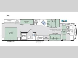 Windsport 34J Floorplan Image