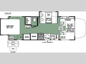 Forester MBS 2401R Floorplan Image