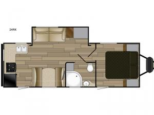 Fun Finder XTREME LITE 24RK Floorplan Image