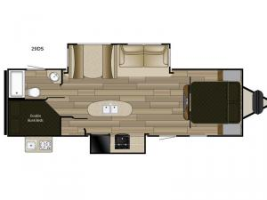 Fun Finder XTREME LITE 29DS Floorplan Image