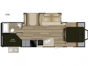 Fun Finder XTREME LITE 27DB Floorplan Image