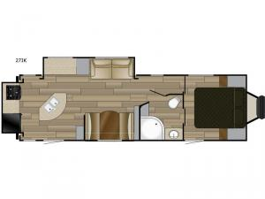 Fun Finder XTREME LITE 27IK Floorplan Image