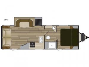 Fun Finder XTREME LITE 25RS Floorplan Image