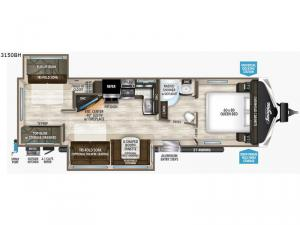 Imagine 3150BH Floorplan Image