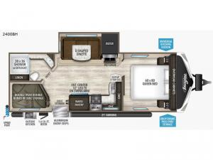Imagine 2400BH Floorplan Image