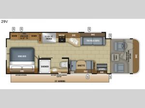 Precept 29V Floorplan Image