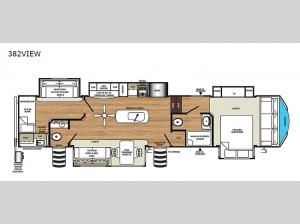 Sierra 382VIEW Floorplan Image