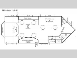 Ice Castle Fish Houses The Mille Lacs Hybrid Floorplan Image