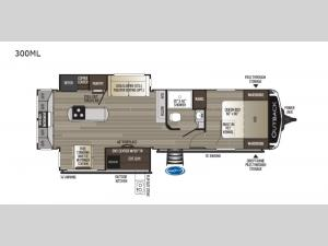 Outback 300ML Floorplan Image