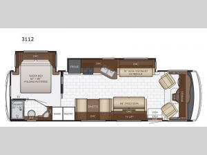 Bay Star Sport 3112 Floorplan Image