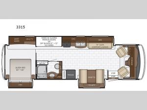 Bay Star Sport 3315 Floorplan Image