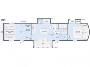 Scorpion 3480 Floorplan Image