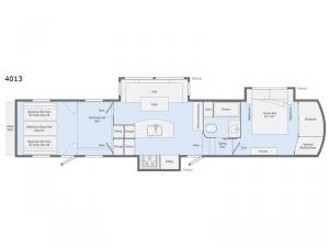 Scorpion 4013 Floorplan Image