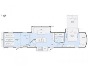 Scorpion 4014 Floorplan Image