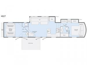 Scorpion 4027 Floorplan Image