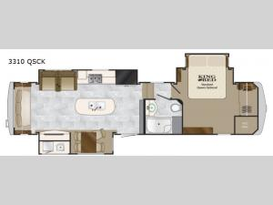 Big Country 3310 QSCK Floorplan Image