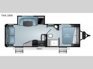 Twilight Signature TWS 2500 Floorplan Image