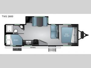 Twilight Signature TWS 2600 Floorplan Image