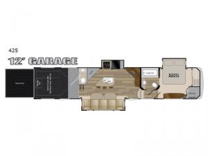 Road Warrior 425 Floorplan Image
